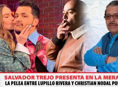 Lupillo Rivera, Christian Nodal, Belinda