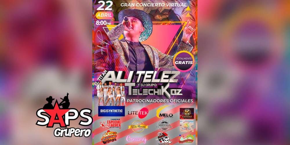 Ali Telez Y Su Grupo Telechikoz armarán la fiesta por los dos años de fusión