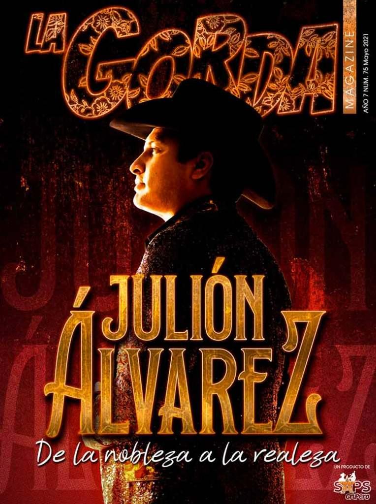 Julión Álvarez, Portada Mayo 2021 La Gorda Magazine