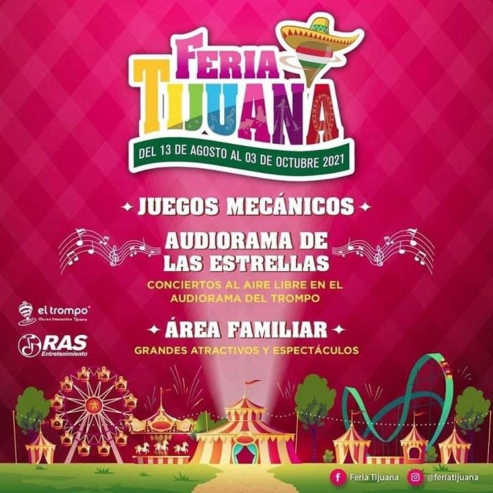 Feria Tijuana 2021 – Cartelera Oficial