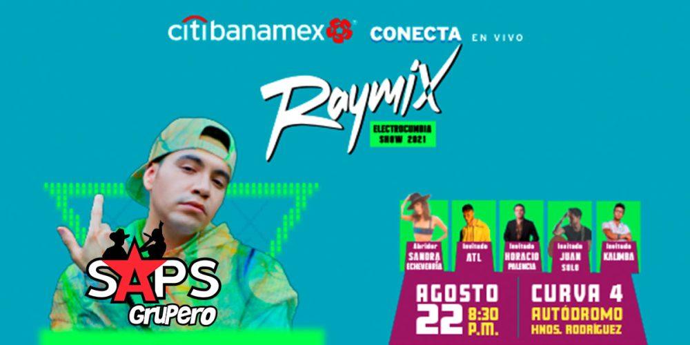 Raymix armará la pachanga en el Autódromo Hermanos Rodríguez