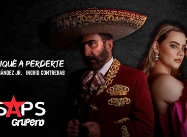 """Ingrid Contreras y Vicente Fernández Jr. traen de vuelta """"Me Dediqué A Perderte"""""""