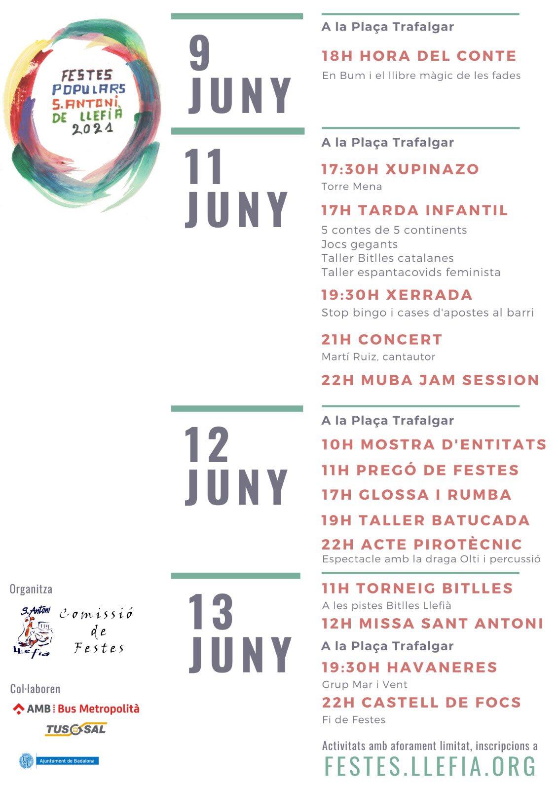 Festes Sant Antoni de Llefia
