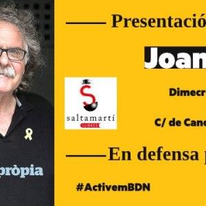 Presentació del Llibre en Defensa Pròpia de Joan Tarda