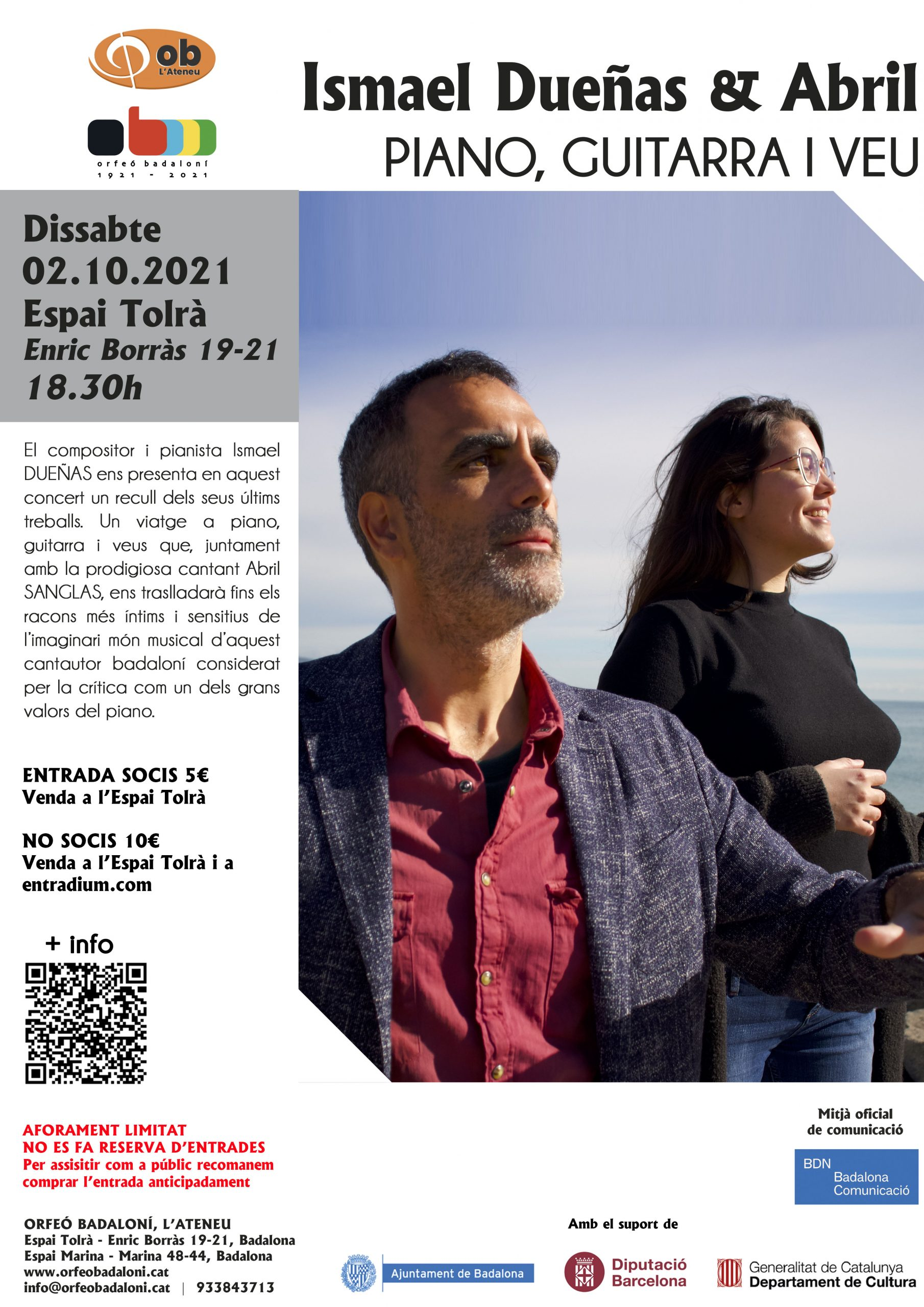 concert ISmael Dueñas i l'Abril