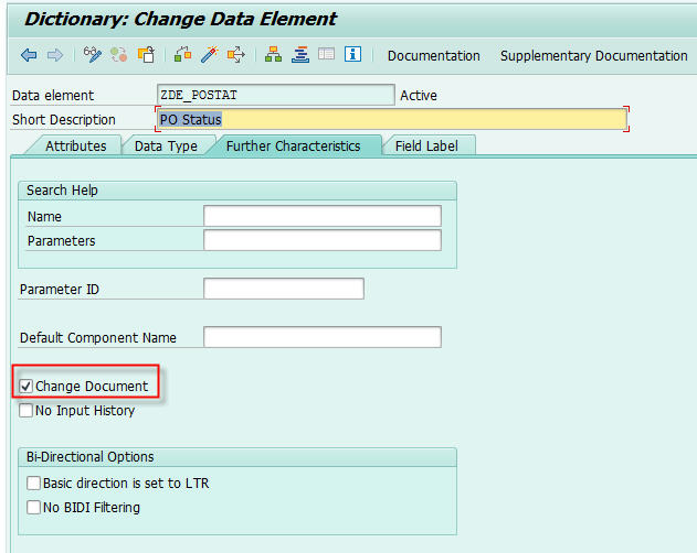 se11-change-documents-sap