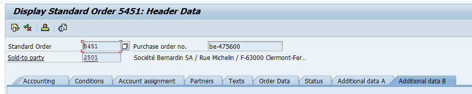 How to add custom field in Additional B Tab for SAP Sales
