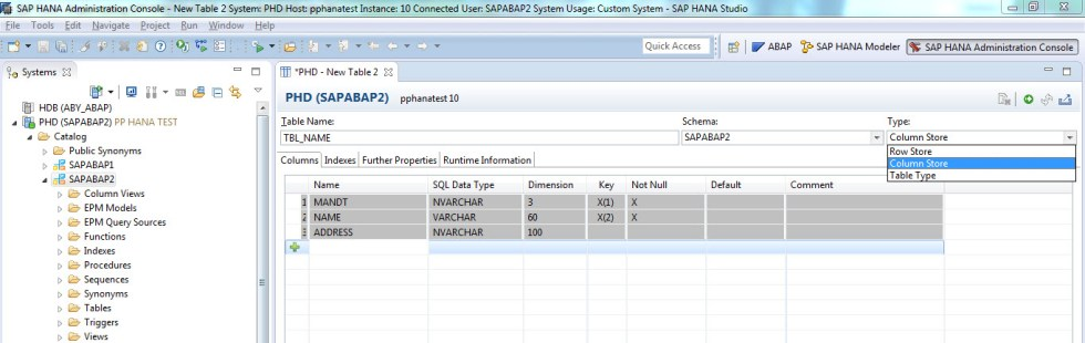 create-column-table-sap-hana