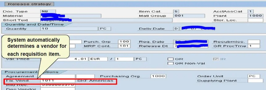 Third Party Sales –Purchase Requisition creation