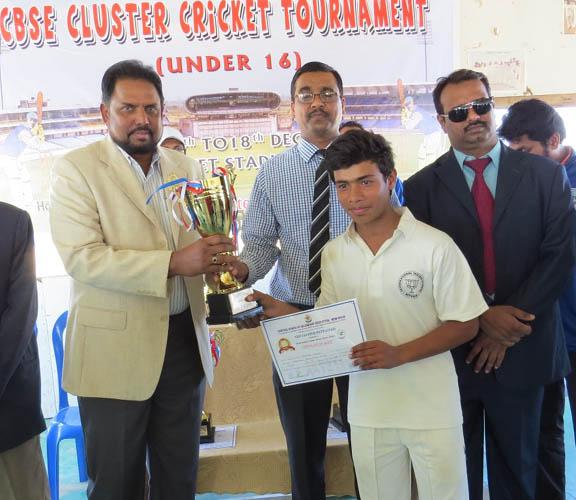 Iisr Are Champions Of Indian Inter School Cluster U 16