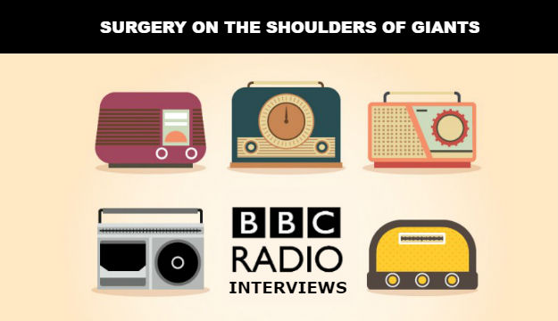 Global Surgery, Faith and Beyond: BBC Local Radio Interviews – 06.08.2017