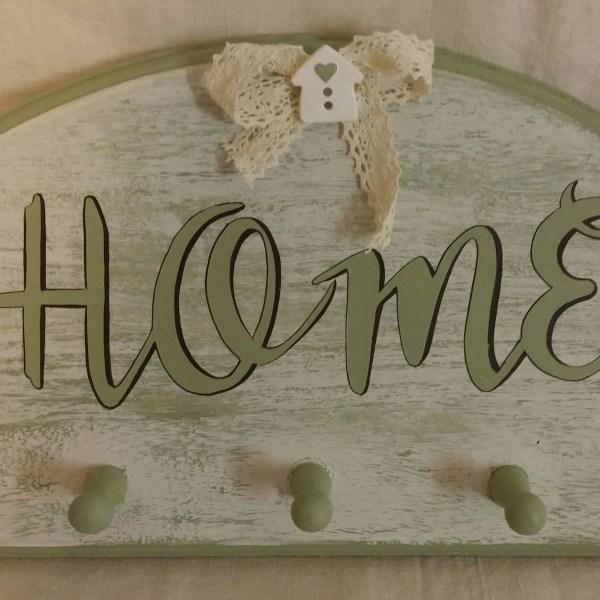 Appendino in legno Home