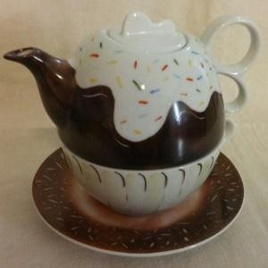 Teiera con tazza Bignè