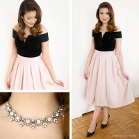 Retro 1950s Christmas Party Outfit