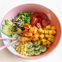 Vegan Spicy Tofu Poke Bowls