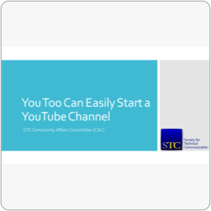 Webinar: Start a YouTube Channel