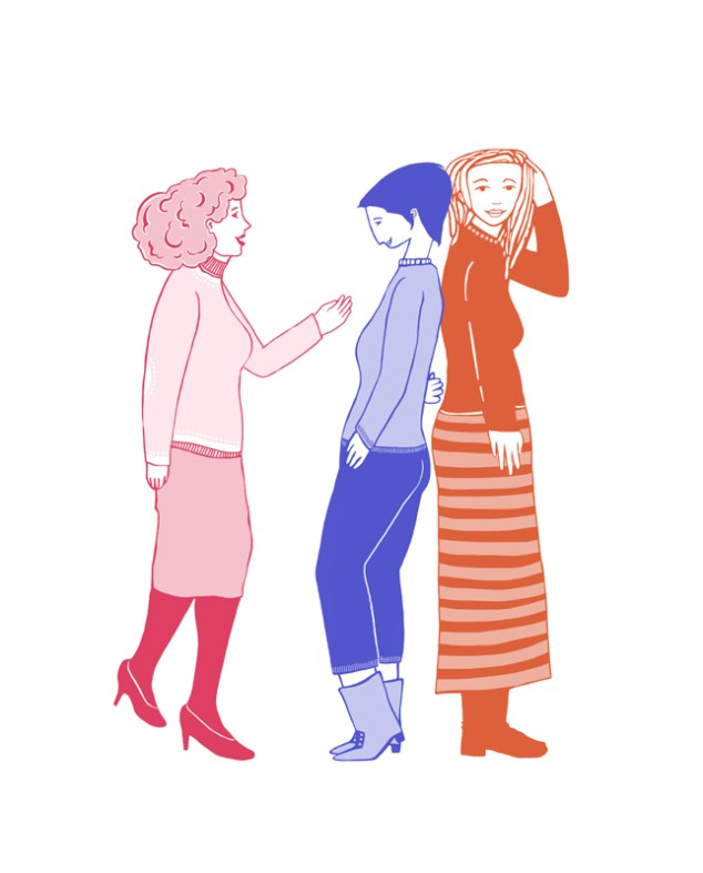 illustrazione casa delle donne contro la violenza modena