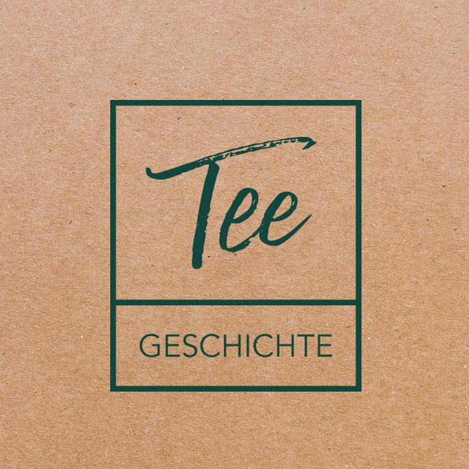 Logoentwicklung - Case Study Logo Tee Geschichte