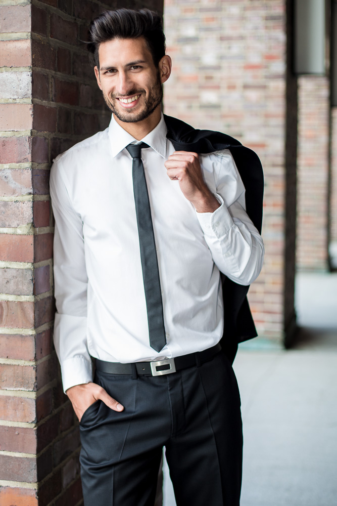 Mann Businessportrait Sarah Porsack Fotografie