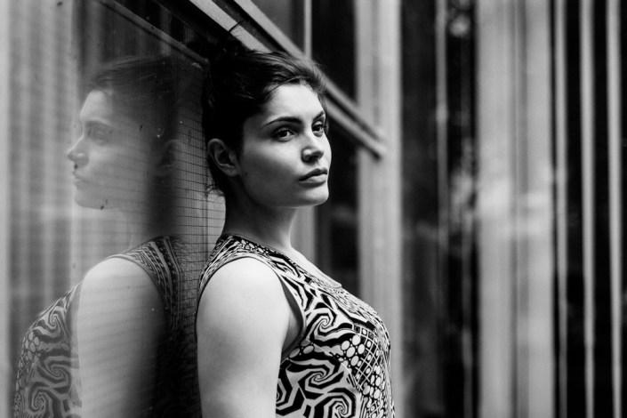 Portrait Beauty Frau Outdoor