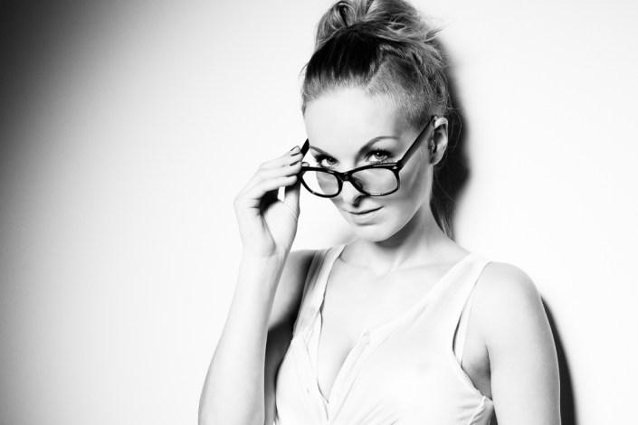 Portrait Beauty Frau Studio