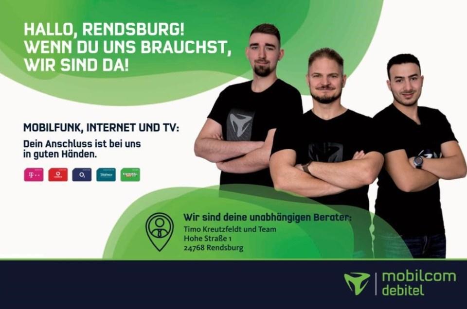 Werbefotografie für mobilcom debitel in Rendsburg