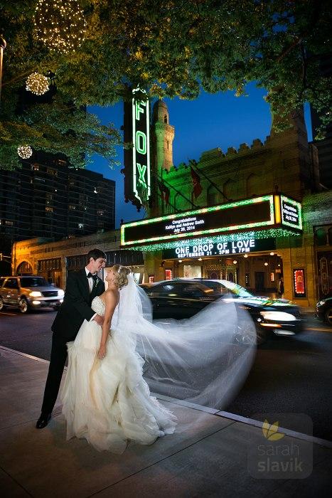 Wedding At The Fox Theatre In Atlanta Sarah Slavik