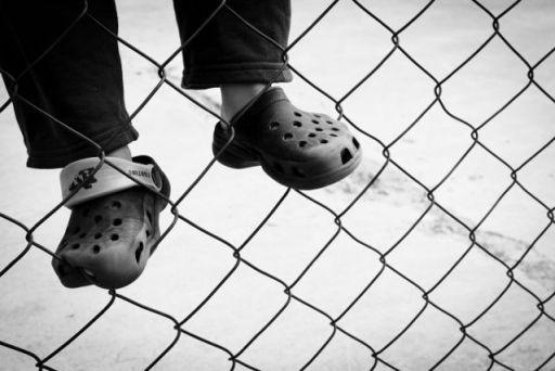 Shoes Fence MJ