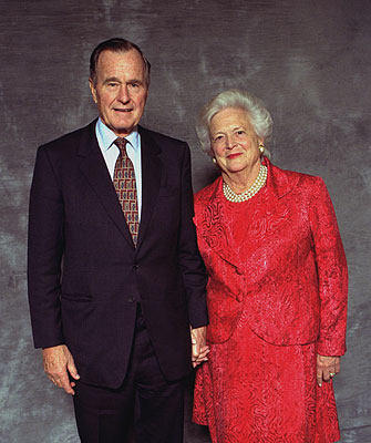 george-barbara-bush
