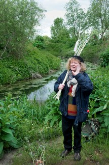 The New Lammas Lands Defence Committee, Beating the Bounds, Leyton Marshes, London, 2010