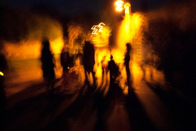 Punkie Night gathering, Hinton St George, Somerset