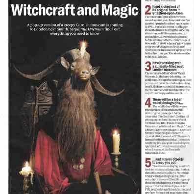 Witchcraft and Magic, Time Out 30.10.17