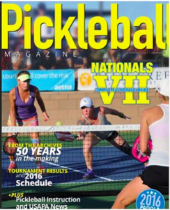 Sarah Ansboury Pickleball Magazine