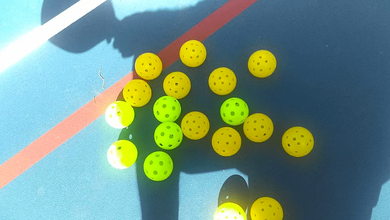 pickleballs