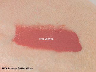 NYX_Intense Butter Gloss Swatch - Tres Leches