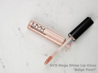 NYX Mega Shine Gloss - Beige Pearl