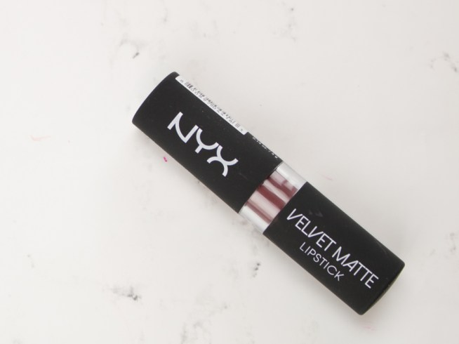 NYX Velvet Matte Lipstick - Volcano