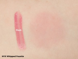 NYX Whipped Fouette Swatch - Plush