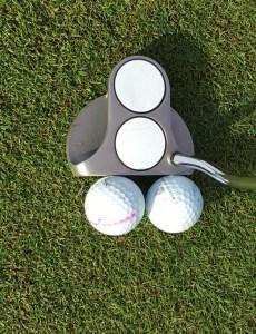 Sarah Bennett PGA Fellow Golf Professional 2 ball putter