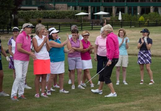 Golfing Girl Olympics golf
