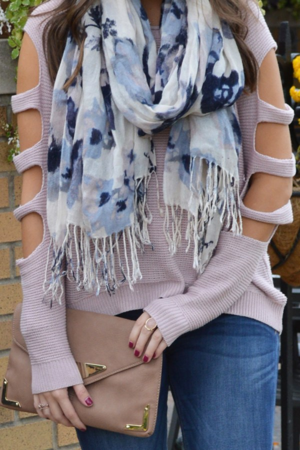 cool toned sweater