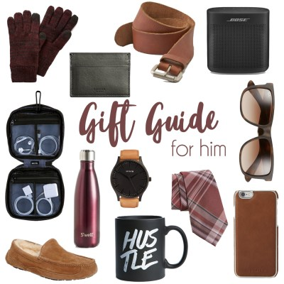 Christmas Gift Guide for Him 2016