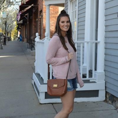 Soft Sweatshirt & Shorts: The Michigan Uniform