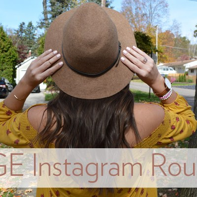 HUGE Instagram Roundup: October Outfits