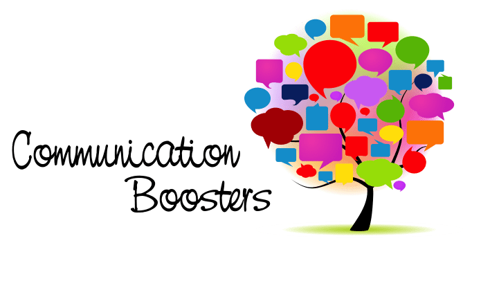 Communication boosters
