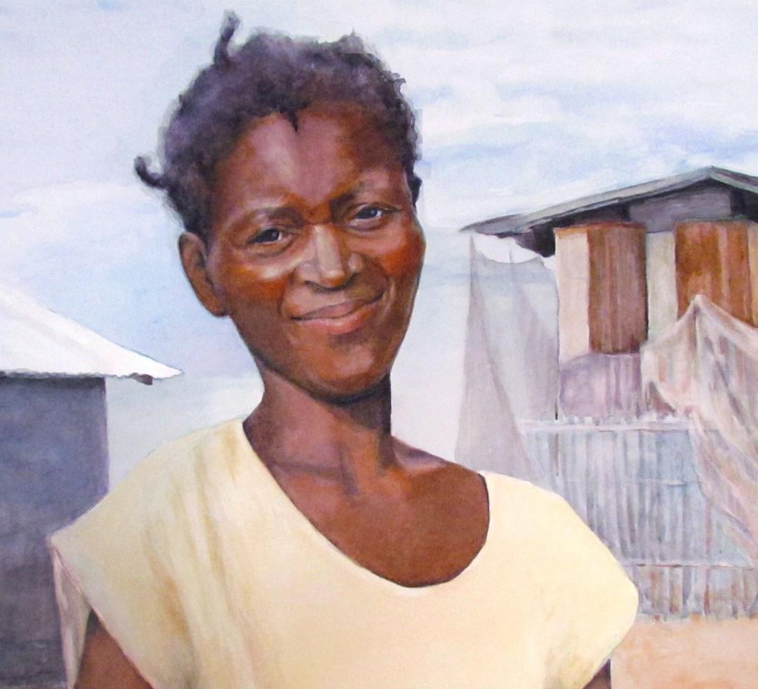 HAITIAN WOMAN
