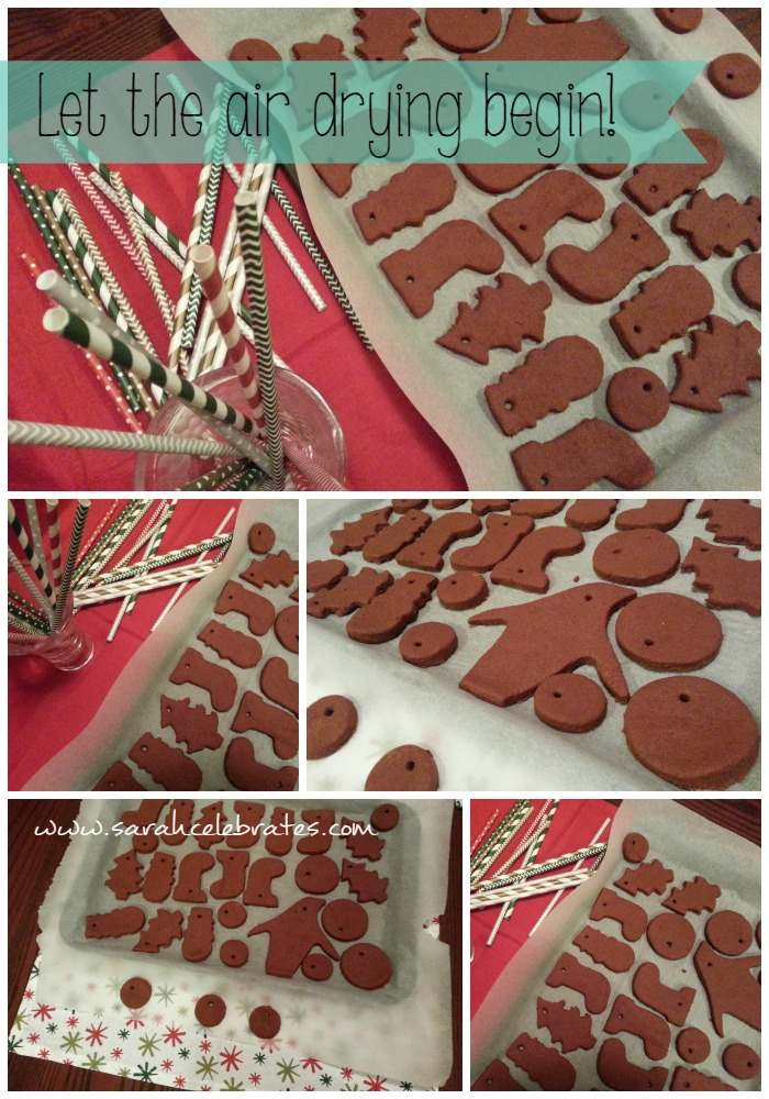Cinnamon Ornaments - Air Drying