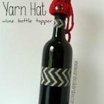 Yarn Hat - Wine Bottle Topper