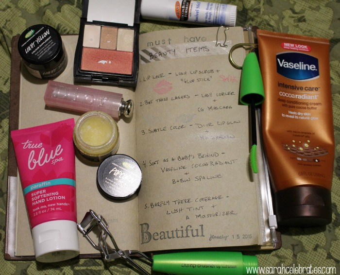 Must Have Beauty Items #52Lists2015 | Sarah Celebrates