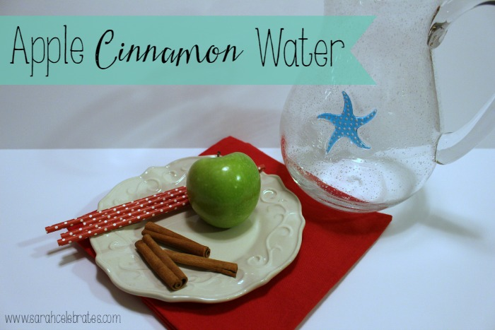 Well With Water - Apple Cinnamon Water | Sarah Celebrates